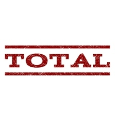 Total Watermark Stamp vector