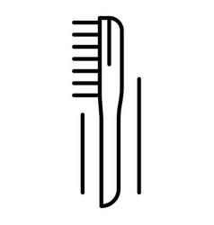 welder brush icon outline style vector image
