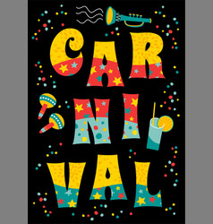 Templates for carnival concept and other vector