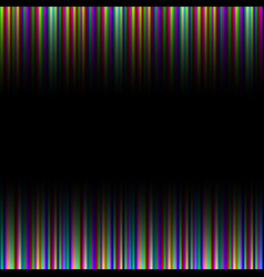 Colorful rainbow gradation striped pattern vector