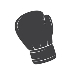 glove boxing equipment isolated icon vector image
