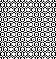 Seamless hexagons texture vector