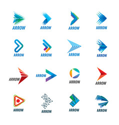 abstract business logo icon design template vector image