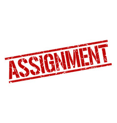 Assignment stamp vector