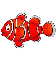 Clown fish cartoon vector