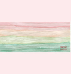 colorful wood header in watercolor style on vector image