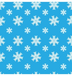 Creative snowflakes seamless pattern vector