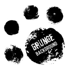 grunge circle backgrounds useful for banners vector image