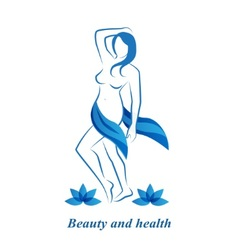 Health Beauty and Femininity vector image