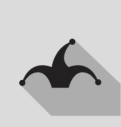 jester icon vector image