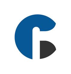 Letter c axe logo icon design wood logging icon vector