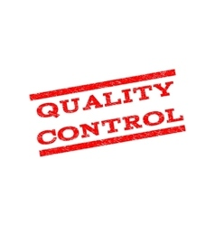 Quality Control Watermark Stamp vector