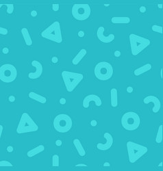 seamless trendy pattern - colorful design vector image