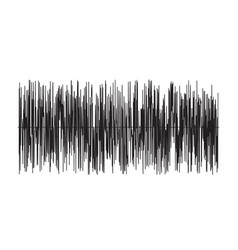 Sound wave on white background sound wave sign vector