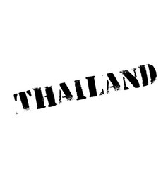 thailand rubber stamp vector image