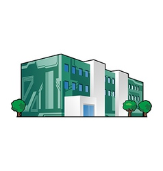 electronics factory vector image