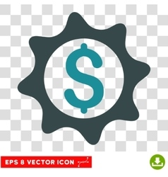 Money Seal Icon vector image vector image