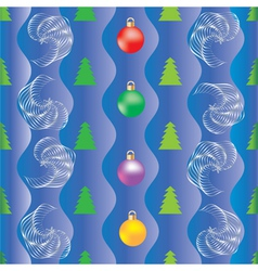 Background Christmas wrapping paper vector image