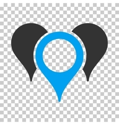 Map Pointers Icon vector