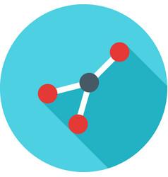 Molecular structure i vector