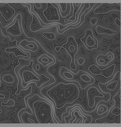 Seamless topographic map contour background topo vector