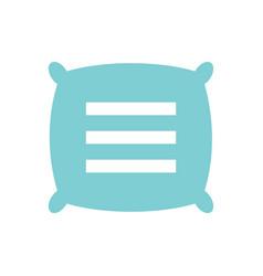 Text pillow logo icon design template elements vector