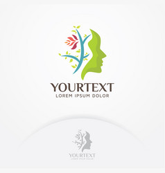 Beauty care logo vector