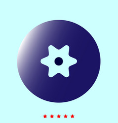 Billberry it is icon vector
