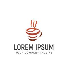 Coffee logo design concept template vector