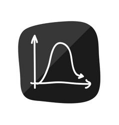 Diagram doodle lines vector