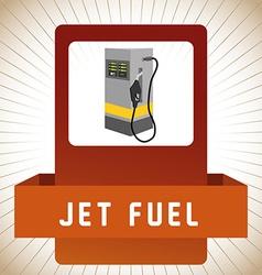 Gas Station design vector
