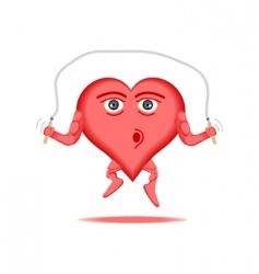 heart healthy vector image