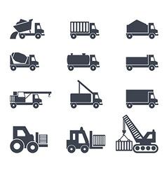 Icon emblem sign symbol logo car truck vector