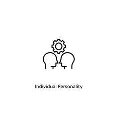 Individual personality vector