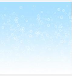 Soap bubbles christmas background subtle flying s vector