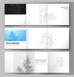 The minimal layout modern covers design vector