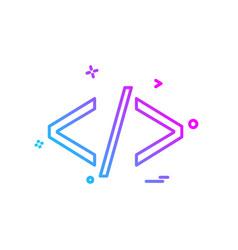 web icon design vector image