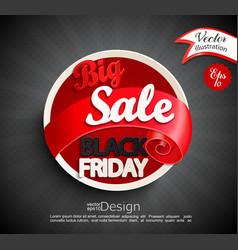 big sale - black friday vector image vector image
