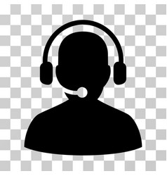 telemarketing icon vector image vector image