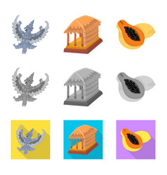 And travel icon collection vector