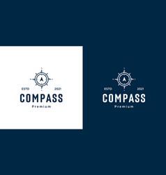 Compass logo template designs vector