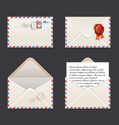 Envelope vector