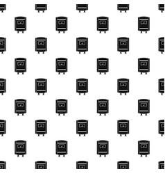 gas boiler pattern seamless vector image