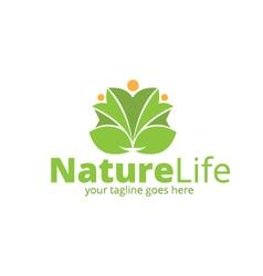 Nature Life Logo vector
