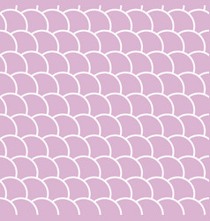 seamless pattern in shape a wave vector image