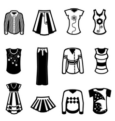 clothes design vector image vector image