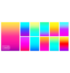 color gradient background creative soft colorful vector image
