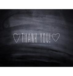 Thank you hearts vector image vector image