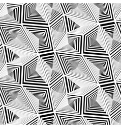 Abstract Geometric Triangular Seamless Pattern vector