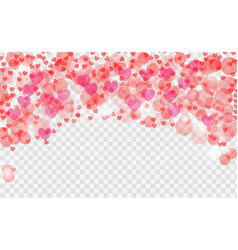 Abstract heart valentine background festive vector